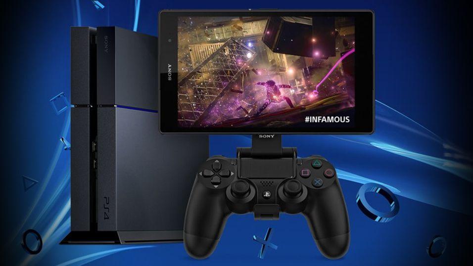 Spill PS4 på Sony-mobilen din