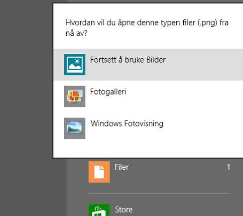 TA VALGET: Du kan åpne bilder i Windows 8 på tre forskjellige måter, men hvilken bør du velge?