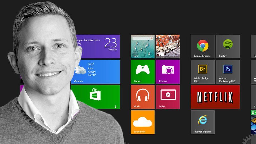 FEATURE: Hva synes Øystein etter tre dager med Windows 8.1?