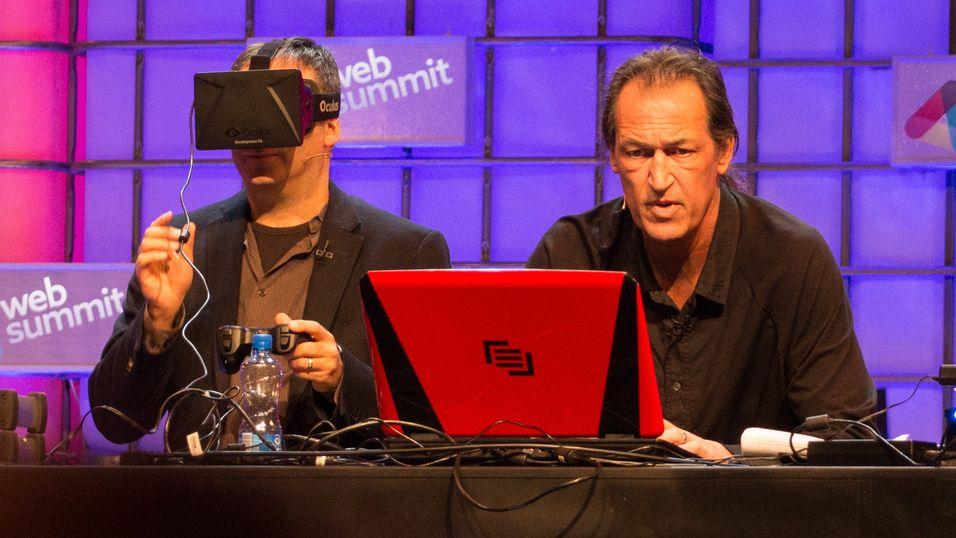 Her bruker han Oculus Rift til å bearbeide alvorlige skader