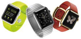 Apple Watch Edition til høyre i bildet.