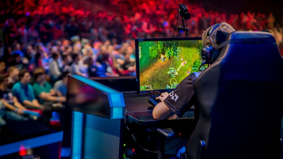 Fra de regionale League of Legends-finalene på Gamescom tidligere i år.