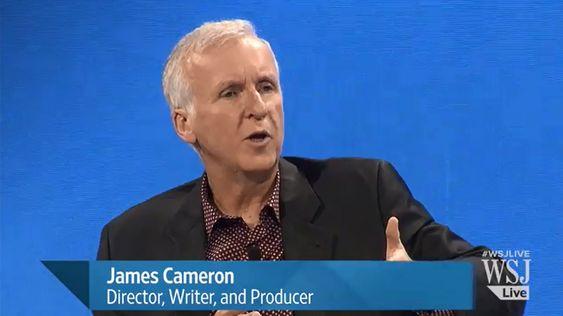 James Cameron ble intervjuet av WSJ om bruk av VR i film.