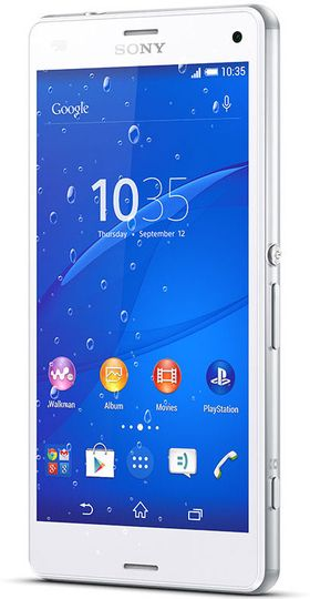 Sony Xperia Z3 Compact.