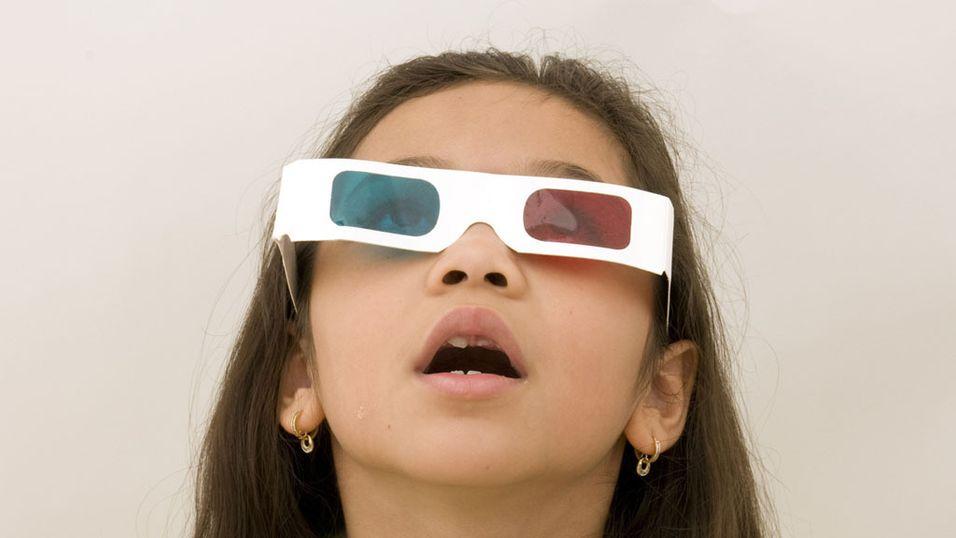 Kan for mye 3D-kikking være skadelig for barn?