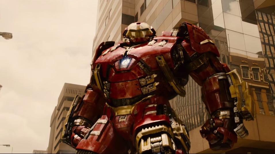 Skjermbilde fra traileren til storfilmen Avengers: Age of Ultron.