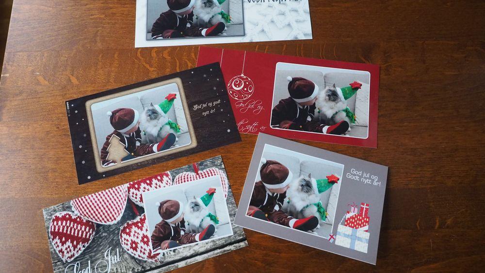 SAMLETEST: Last opp bildene dine og lag flotte julekort