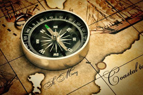 Før gyroskopet ble en del av mobilene våre ble det digitale kompasset både brukt til navigasjon og som styringsmetode i spill og utvidet virkelighet.