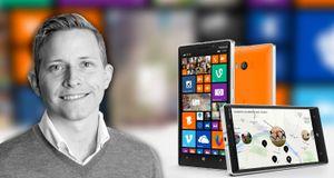 – Windows Phone er jo genialt