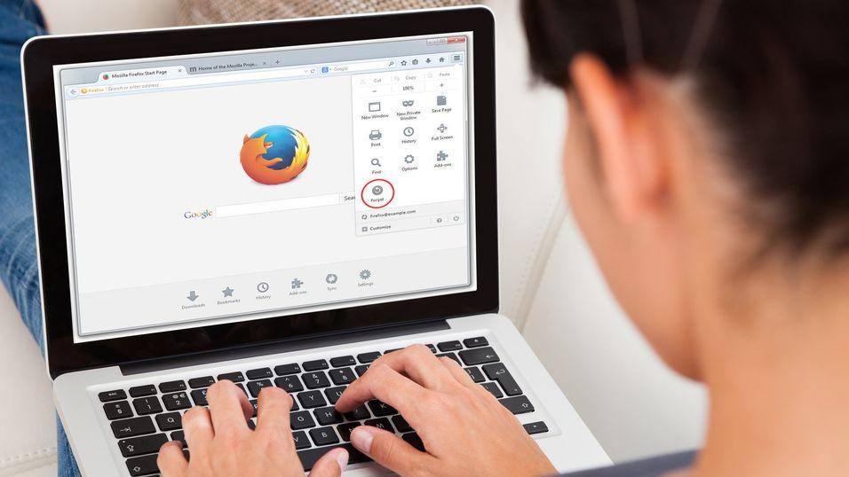 Nå har Firefox fått en ny «Glem»-knapp