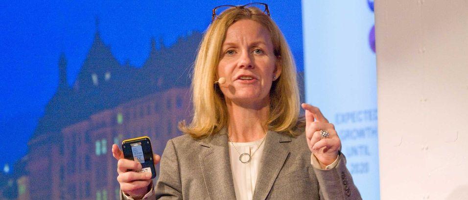 Markedssjef (CCO) Hélène Barnekow i Teliasonera sier selskapet investerer tungt i kjernevirksomhet og nærliggende områder, som M2M.