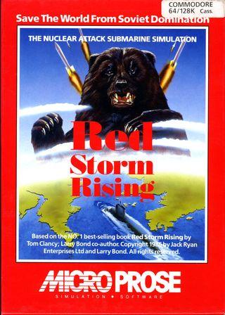 Frykten for den røde trusselen fra øst har sjelden vært portrettert bedre på et cover.