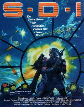 Science Fiction-spillet S.D.I. hentet inspirasjonen fra Reagans romkrigprogram.