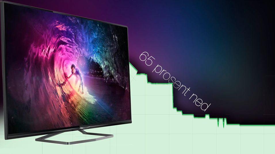 Prisene har stupt på flere mange 4K-TV-er det siste halve året.