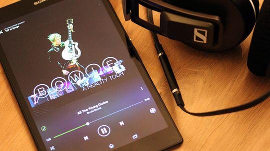 Sony er gode på musikk, også i nettbrettene sine.
