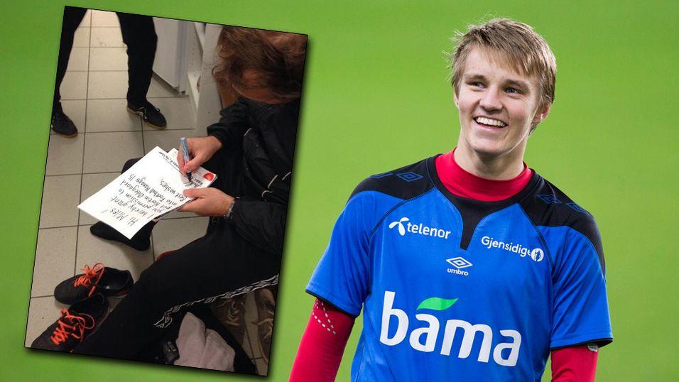 Martin Ødegaard dukker likevel opp i Football Manager 2015