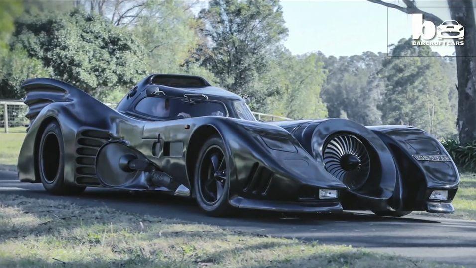 Denne Batmobilen kan kjøre lovlig på veien