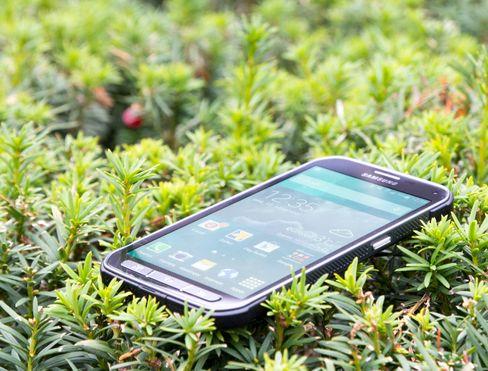 Galaxy S5 Active er vanntett og trives svært godt utendørs.