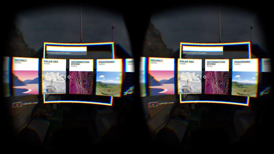Firefox får innebygget støtte for VR-brillene Oculus Rift