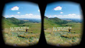 Skjermbilde fra en av VR-demoene.