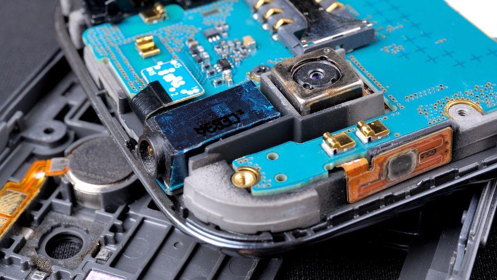 En moderne smartmobil har et stort antall ulike sensorer.