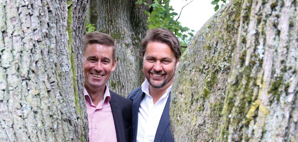 Netcom-sjef August Baumann jobber hardt for å få lov til å kjøpe Tele2-sjef Arild Hustads virksomhet. Nå foreslås det å selge både Tele2-nettet og  frekvenstillatelsene til Ice.