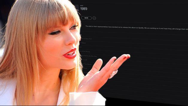Taylor Swift tjente stort på å droppe Spotify