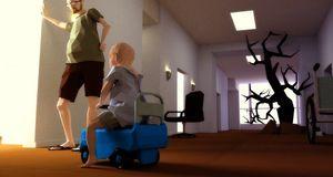 Lager spill om sin bortgåtte sønn