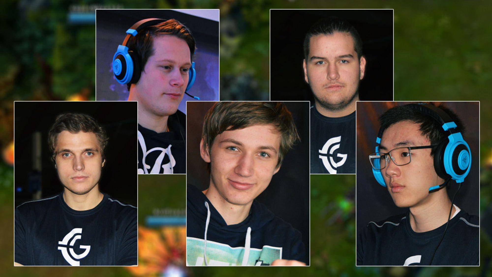 De fem best spillerne i høstsesongen av Logitech G League of Legends Series, kåret av publikum.