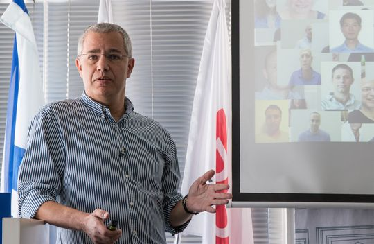 Ehud Rokach, toppsjefen i XtremIO.