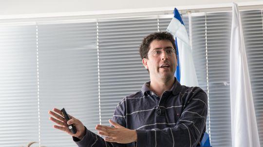 Renen Hallak er ingeniør i XtremIO.