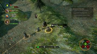 Den taktiske kampmodusen er litt knotete å bruke på konsoll.