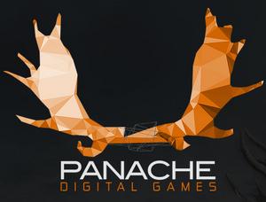 Logoen til det nye selskapet indikerer at de jobber med en villmarkssimulator der du får rollen som en kanadisk elg.