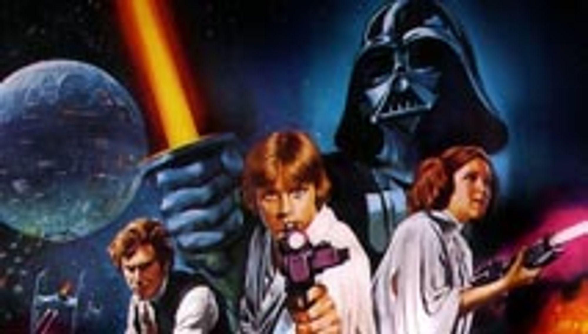 Original-Star Wars på DVD