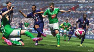 Pro Evolution Soccer 2015.