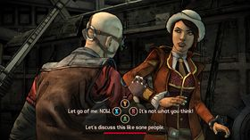 Tales from the Borderlands serverer ein ny vri på Borderlands-universet.