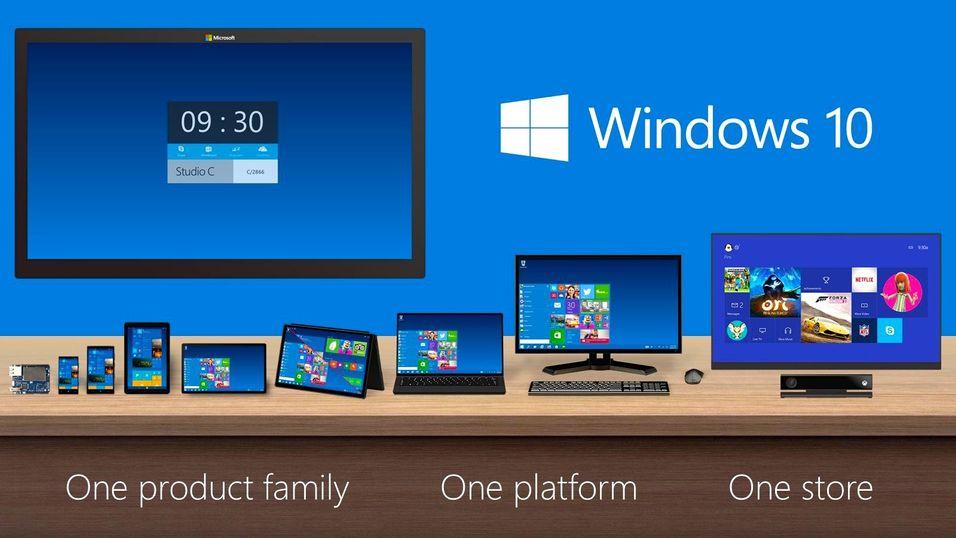 Windows samler Windows 10 over alle platformer.