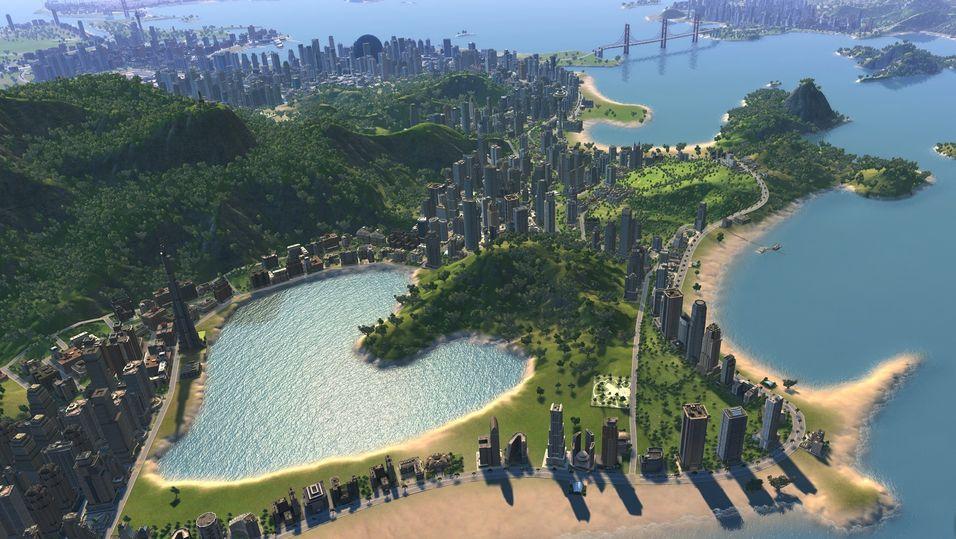Skjermbilde fra Cities XL 2012.