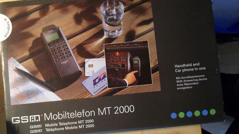 For 20 år siden kom det første mobilspillet