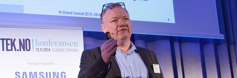 Den danske teleanalytikeren John Strand sier Europas aksjeanalytikere følger myndighetenes behandling av Netcoms kjøp av Tele2 med stor interesse. Avgjørelsen kan få betydning for andre fusjoner i europeisk telebransje.