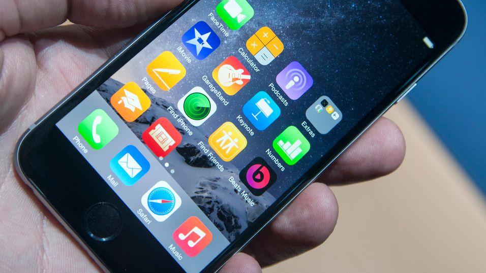 I dag blir iPhonen og iPaden din raskere
