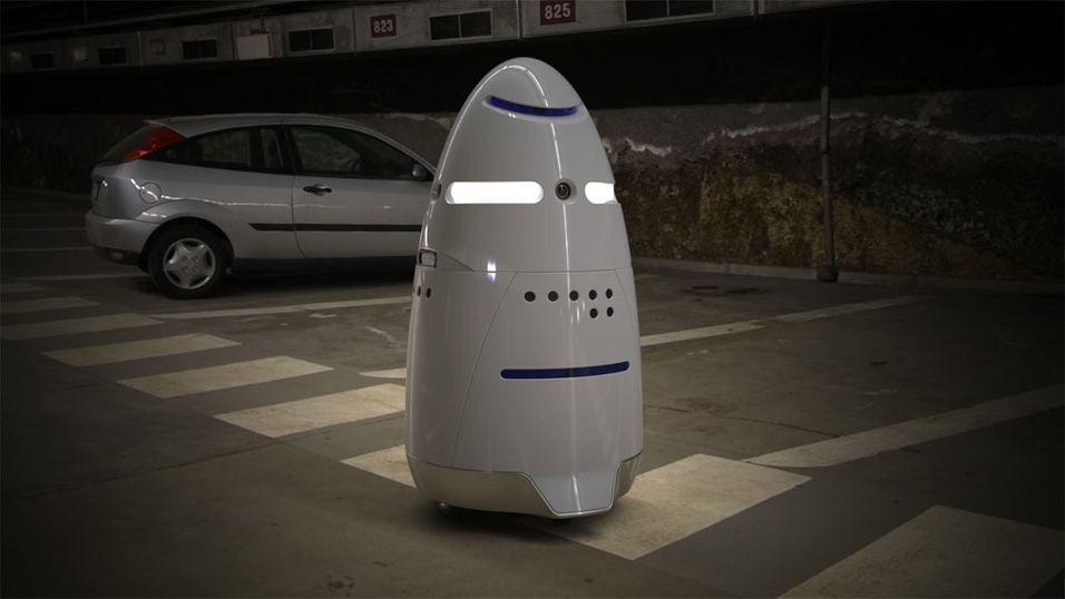 Hils på roboten K5, fremtidens sikkerhetsvakt