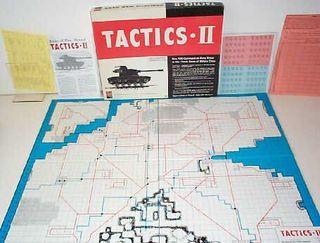 Tactics II fra Avalon Hill. Dette var en forbedret utgave av Tactics, og kom i 1958.