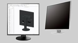 Denne PC-skjermen er like stor i høyden som i bredden