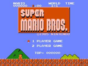 Super Mario Bros.-filmen blir nok litt mer moderne enn dette.