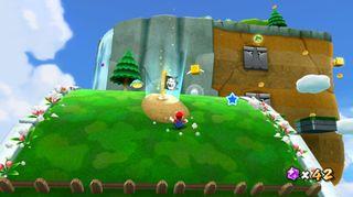 Super Mario Galaxy frigjør seg fra tullete konvensjoner som gravitasjon og realistiske landskap.