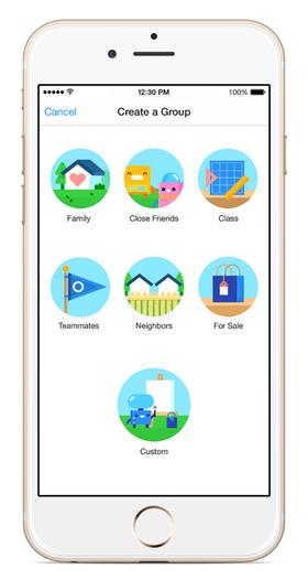 Facebook har lansert en egen app for grupper.