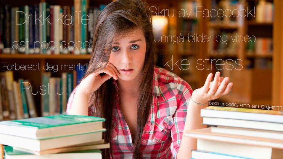 GUIDE: 5 steg for å overleve eksamen