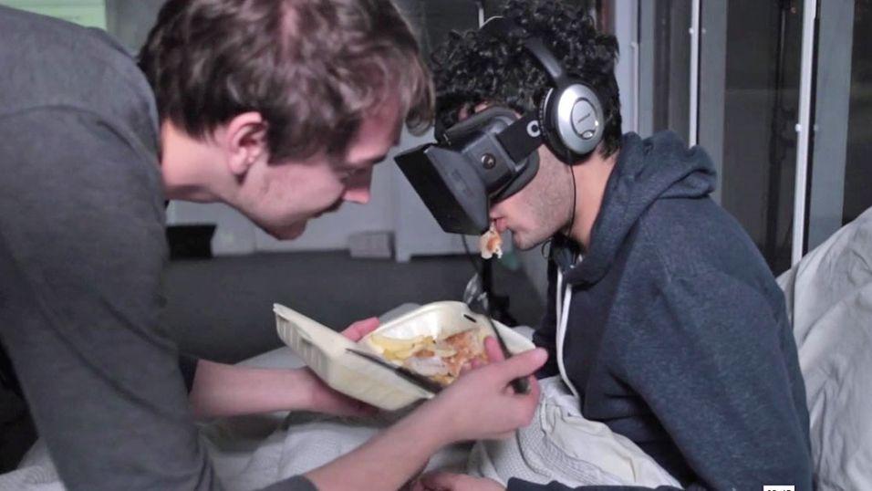 Kunstner vil bruke Oculus Rift døgnet rundt i 28 dager