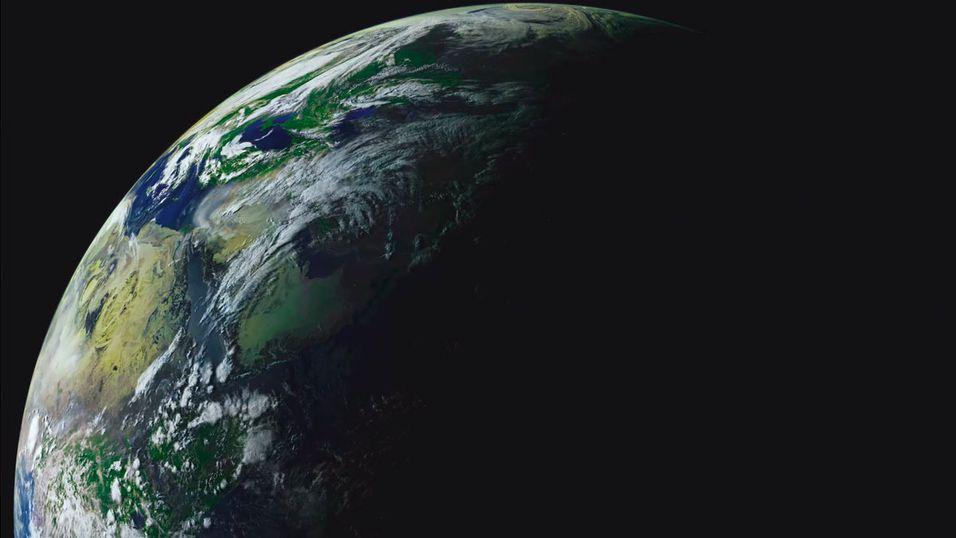Se denne enorme videoen av Jorden